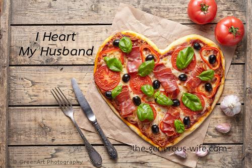 I Heart My Husband - A heart here, a heart there.
