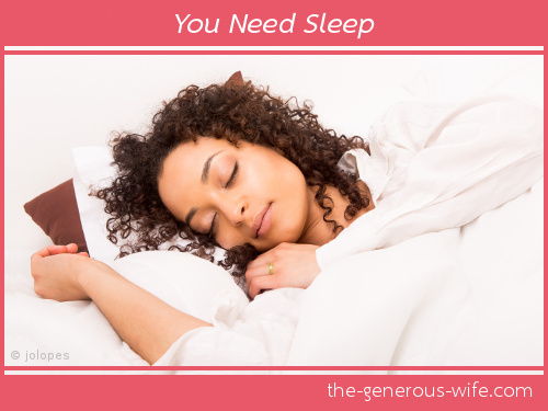 You Need Sleep - You'll be more alert and creative when you wake up.
