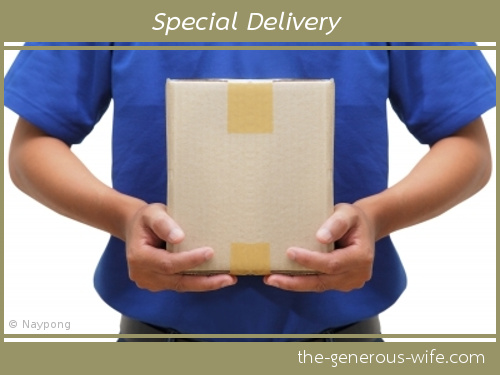 Special Delivery - Deliver a bit of lovin'.