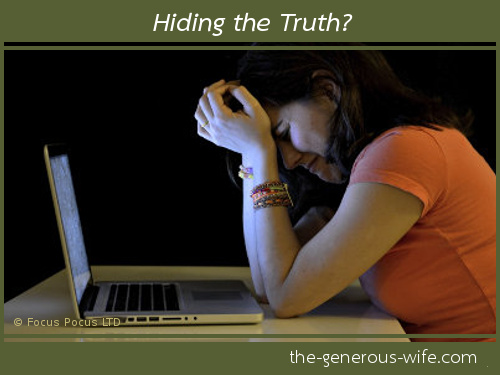 Hiding the Truth? -  Secrets can harm your marriage.