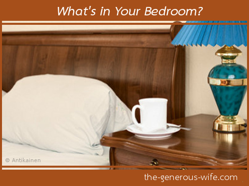 The generous wife a daily reminder to grow your marriage How do you clean your bedroom
