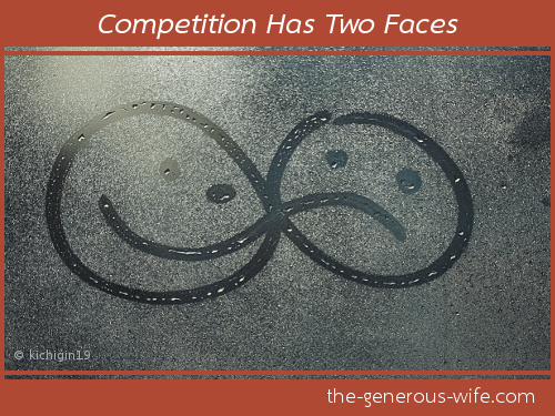 Competition Has Two Faces - Stay on the same team with your sweetie over the important things.
