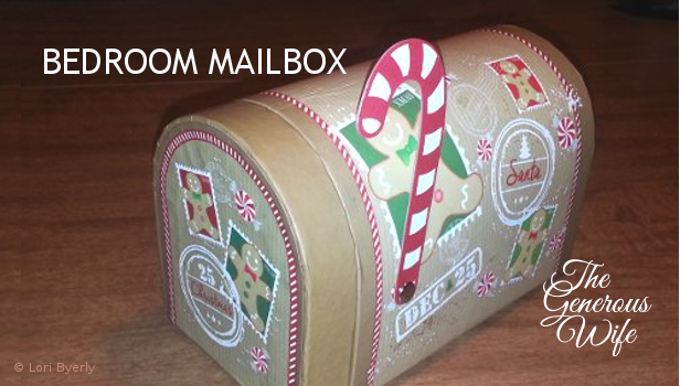 Bedroom Mailbox - Communicate your love this holiday season.