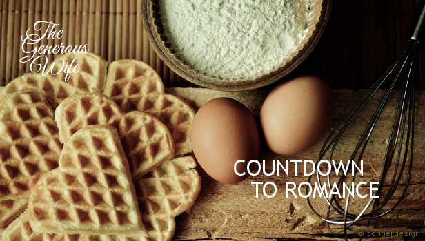 Countdown to Romance ♥ You have about a month to plan a little Valentine romance for your man.