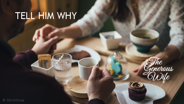 Tell Him Why - Give words to your love and appreciation.