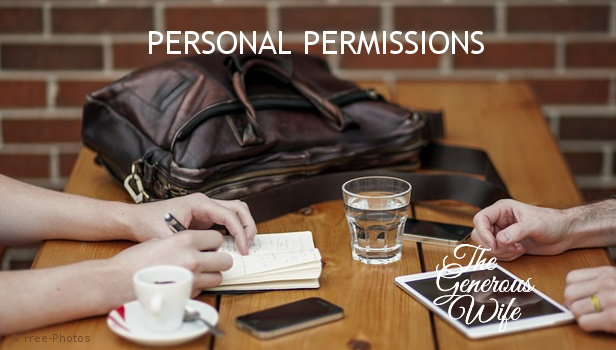 Personal Permissions - Do you and your husband know each other's passwords?