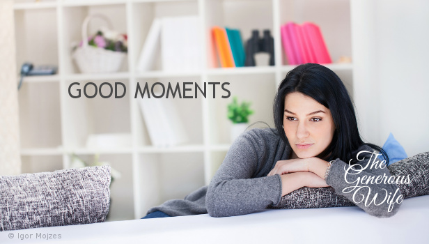 Good Moments - In the last week, what moments in your marriage were sweet?
