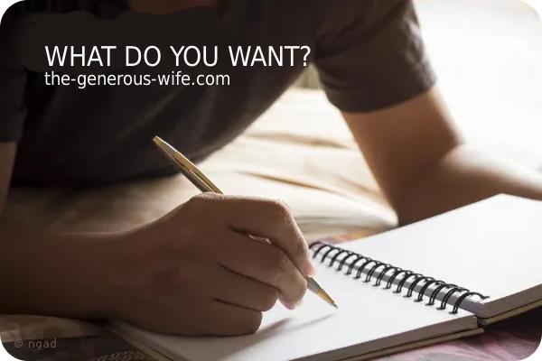 husband making list